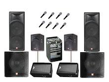 Sistema de sonido profesional