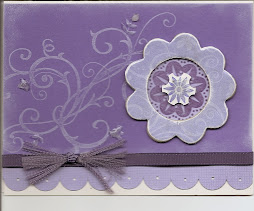 Chipboard Flower Card