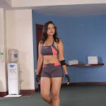 Beautiful Babe Madalasa Sharma Maintaining Her Structure Doing  Exercises At Gym...