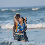 Actress Shraddha Arya And Aryan Rajesh Wet At Sea Shore In A Song  From The Telugu Film Romeo...