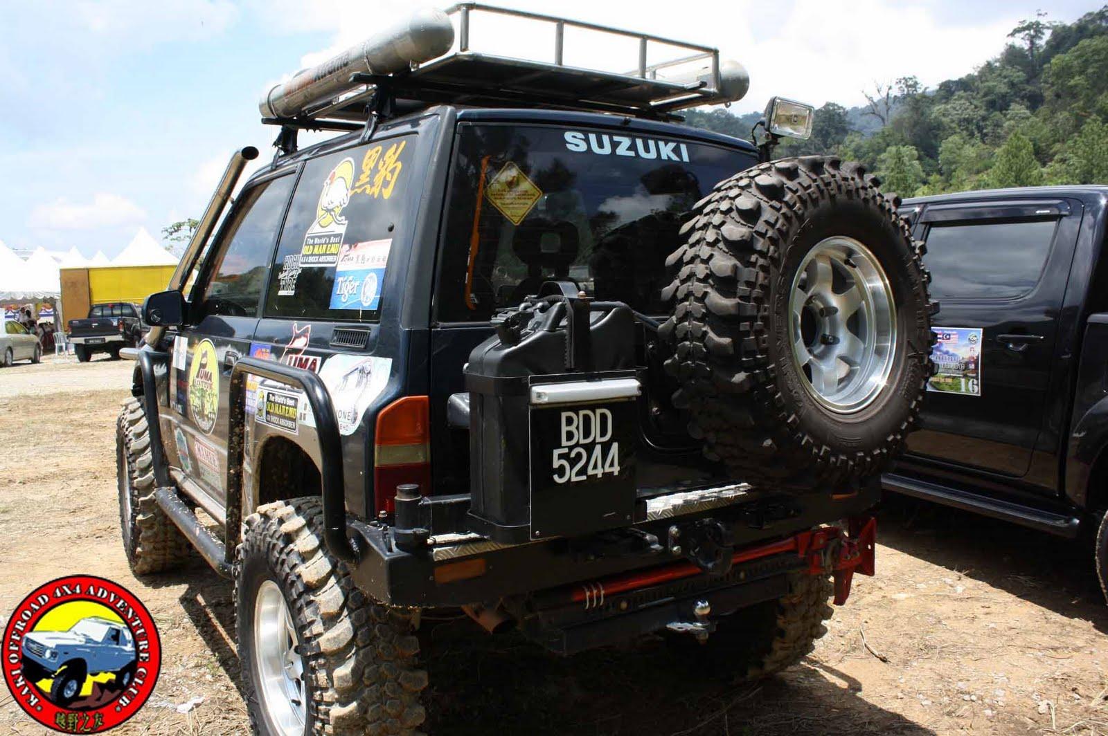 Kaki Offroad 4x4 Adventure Club Suzuki Vitara Modification