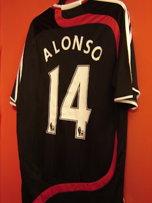 f00ebc48e7d This LFC jersey for 2007-08 European Campaign shirt is considered special  as it should be a Champions League away shirt and Liverpool s third kit in  case of ...
