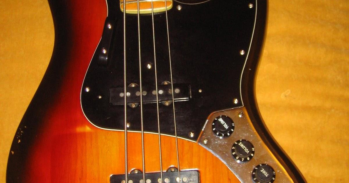 the guitar garage 1981 fender jazz bass last of the. Black Bedroom Furniture Sets. Home Design Ideas