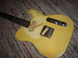 the guitar garage 1968 fender telecaster blonde refinish repair updated. Black Bedroom Furniture Sets. Home Design Ideas