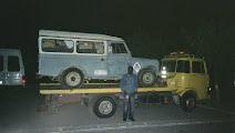 Envio Land Rover de Barcelona a Banjul 2007