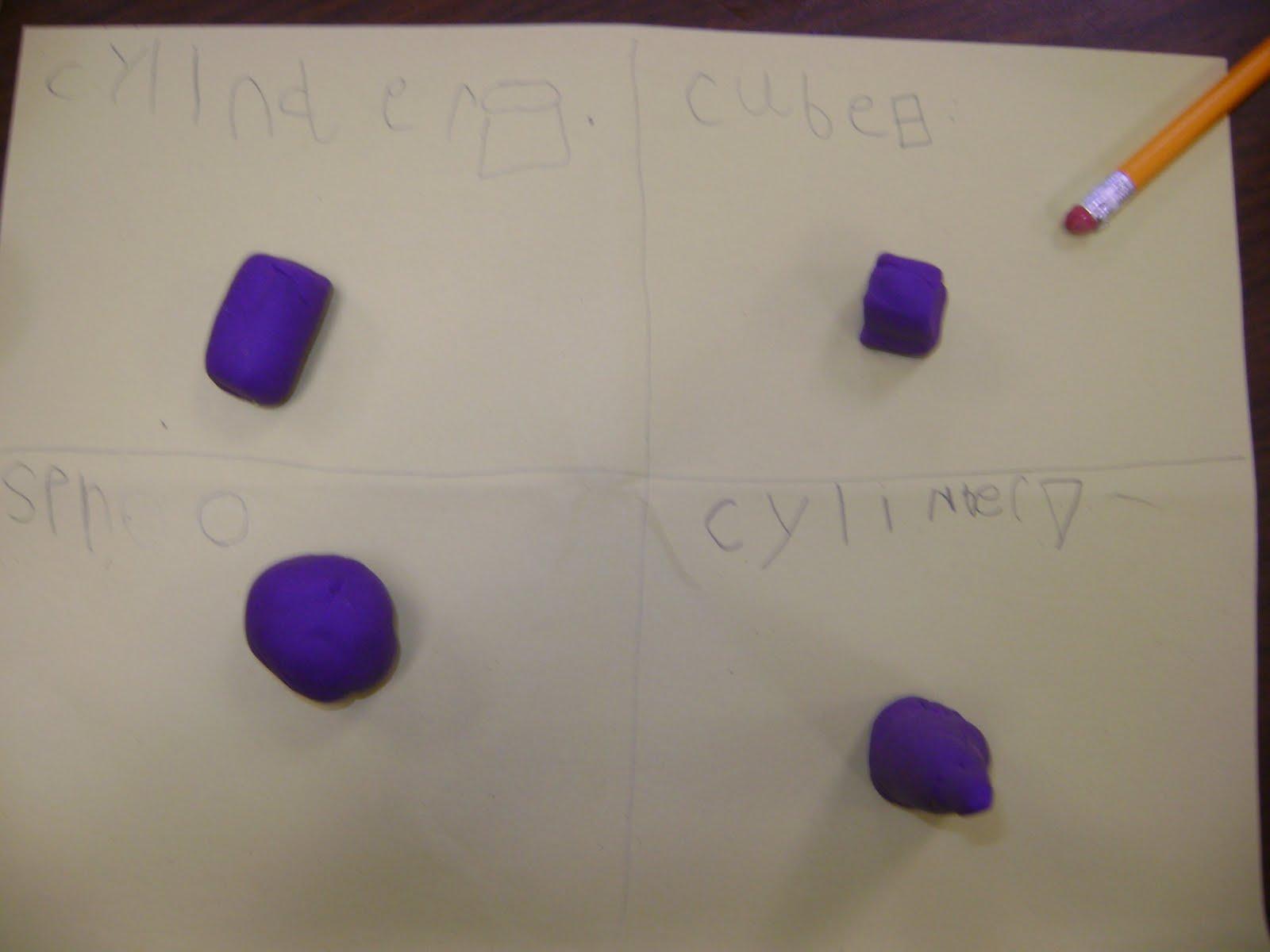 Mrs Guntorius Kindergarten Class Three Dimensional Shapes