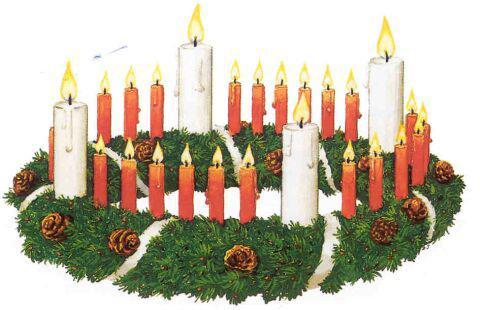pocket german der adventskranz the advent wreath. Black Bedroom Furniture Sets. Home Design Ideas