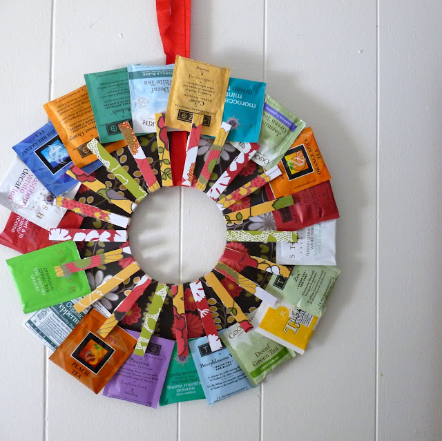 How To Make A Tea Wreath