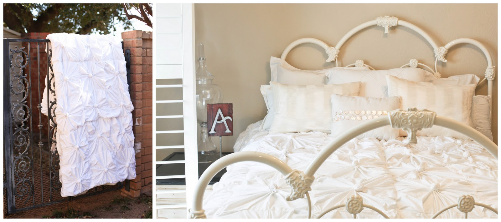 Anthropologie Inspired Knotted Bedding Part 2 Putting It