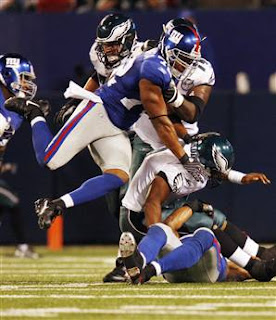 Osi gets a hold of McNabb