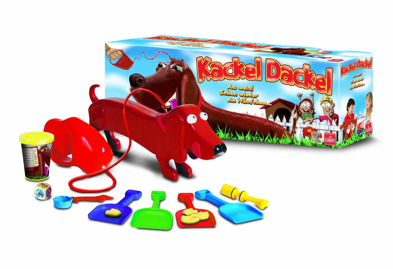 0543544bfd ... on Amazon Germany (not available in the US at this time). So basically  it is some kind of game where you feed a wiener dog play-doh and then it  poops ...