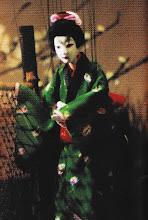 Yukiza, Teatro de marionetes, Edo Japão, atual Tóquio.