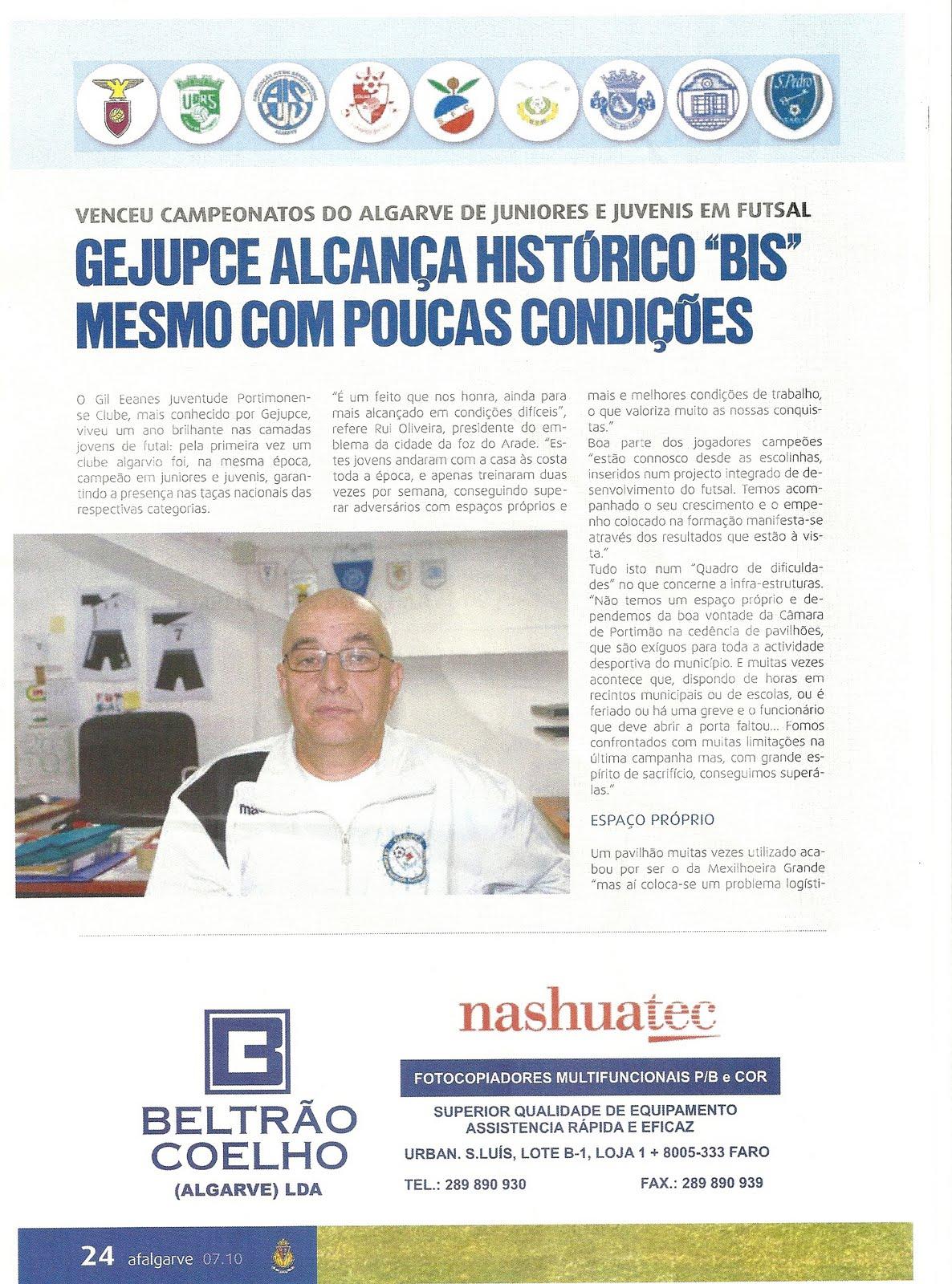 8cc9da0acd Fonte Revista AFAlgarve Nº51