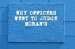Behind The Blue Wall: [FL] WHO CARES ABOUT JUDGE MORAN'S WIFE?