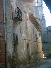 Casa del Bayle, Cantavieja, que sirvió de cuartel general de Cabrera y de escuela de oficiales.