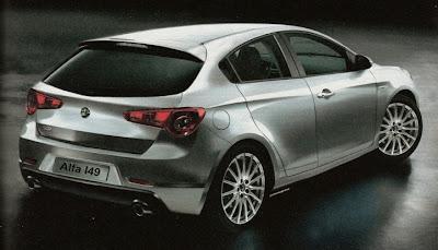 Alfa Romeo 149 Rendering Speculations