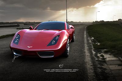 Corvette C3 by Ugar Sahin Design