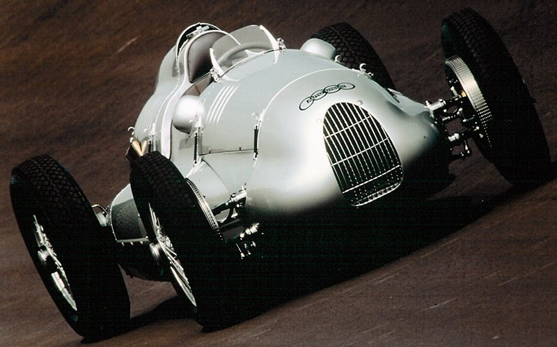 1939 Auto Union Type D Racing Car To Be Auctioned At Christies