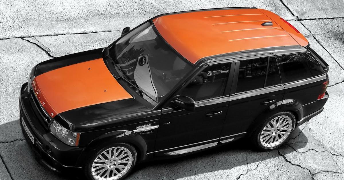 Range Rover Sport Vesuvius By Project Kahn