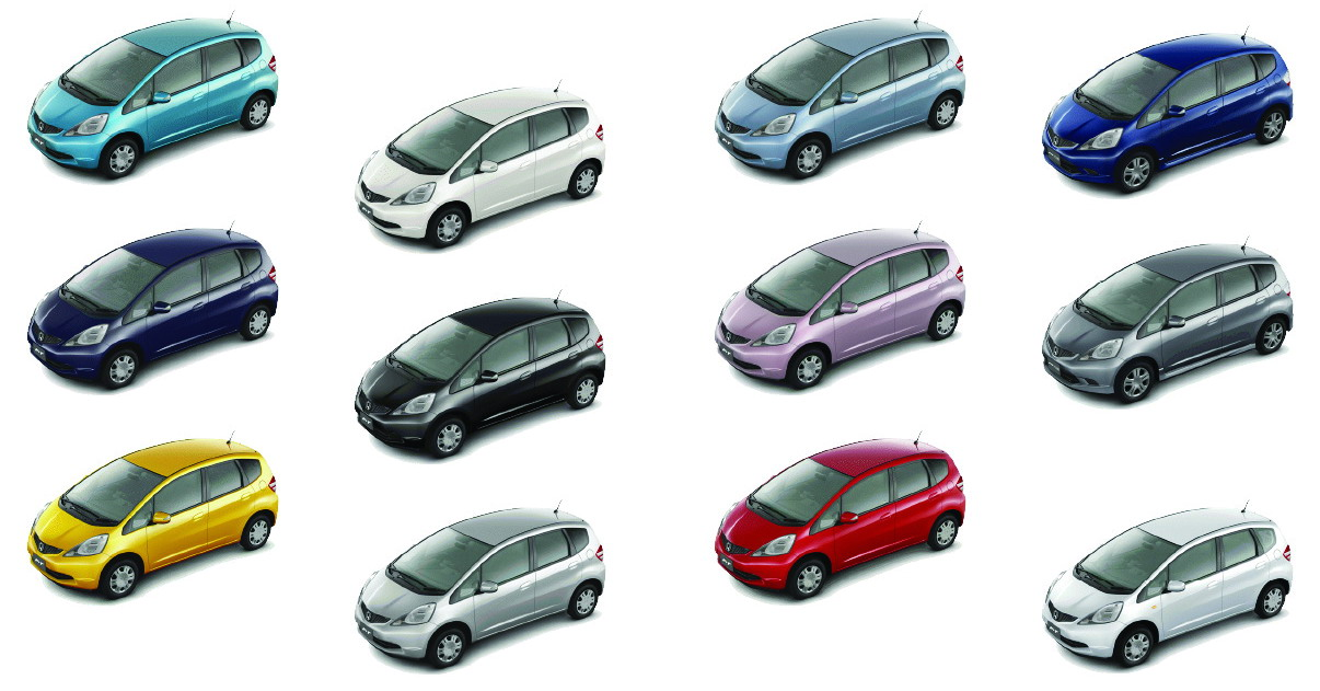 2009 Fit Colors Unofficial Honda Fit Forums