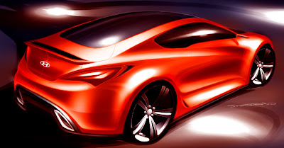 CSP Hyundai Coupe Sketch 1