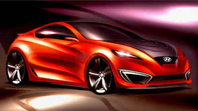 CSP Hyundai Coupe Sketch 2