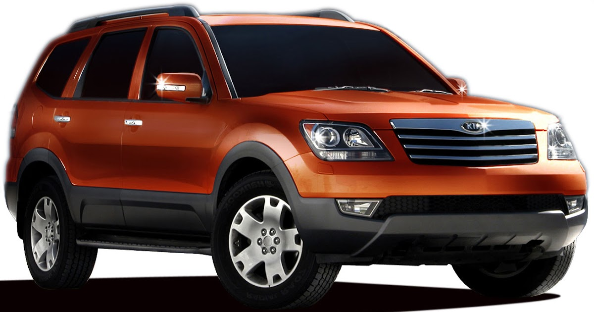 2009 kia borrego new mid sized suv based on the mesa concept. Black Bedroom Furniture Sets. Home Design Ideas