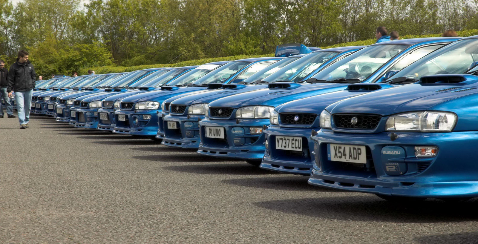 sought after limited edition imprezas the p1 was developed as a joint