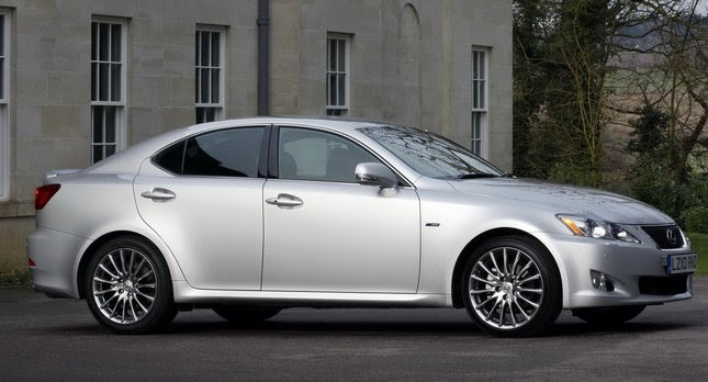 improved 2010 lexus is with new f sport grade goes on sale in the uk. Black Bedroom Furniture Sets. Home Design Ideas