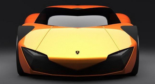 The Car 2020 Lamborghini Minotauro Design Concept Yes
