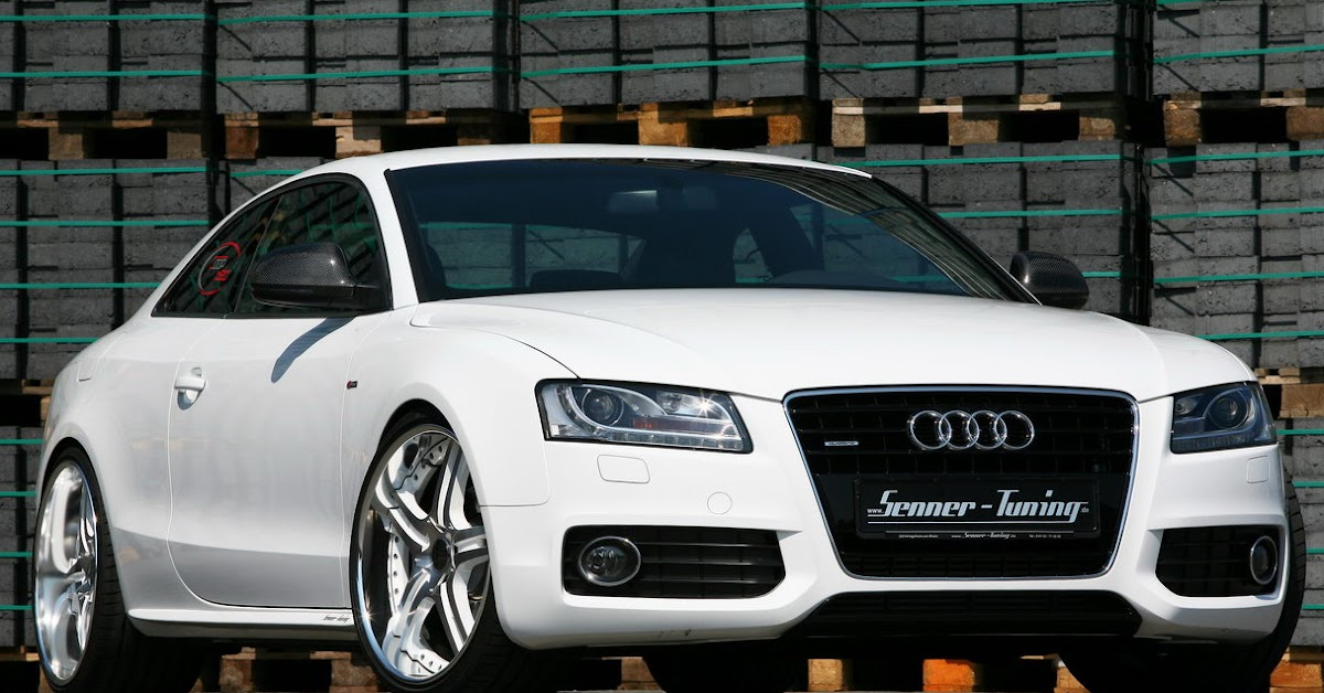 senner tuning audi a5 3 0 tdi white speed with 300hp. Black Bedroom Furniture Sets. Home Design Ideas