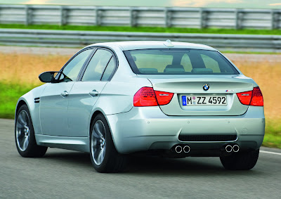... BMW M3 Sedan, which combines a 400-hp 4.0-liter V8, a six-speed manual