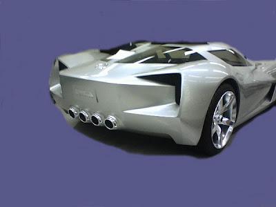 Corvette Transformers 2 Transformers 2 Movie New Photos of the Mystery Corvette Concept Photos