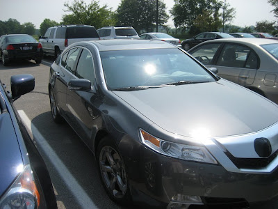 Acura TL 2009 15 2009 Acura TL Spied With Minimal Camouflage