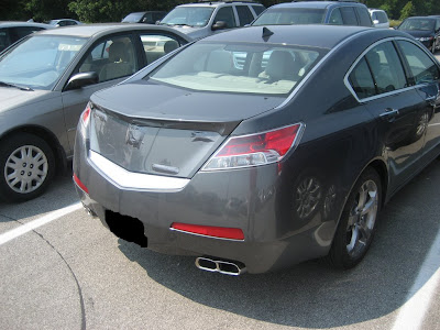 Acura on 2009 Acura Tl Spied With Minimal Camouflage   Carscoops