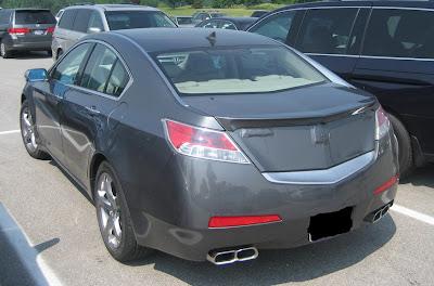 Acura 2009 on 2009 Acura Tl Spied With Minimal Camouflage   Acura Tl   Zimbio