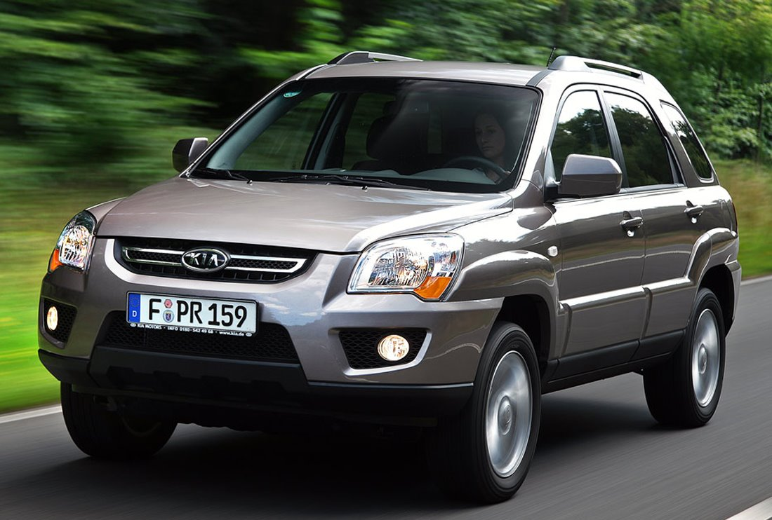 2009 Kia Sportage Suv Gets Mild Facelift And New 2 0l Sel
