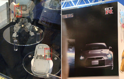 Nissan GT-R Transformers