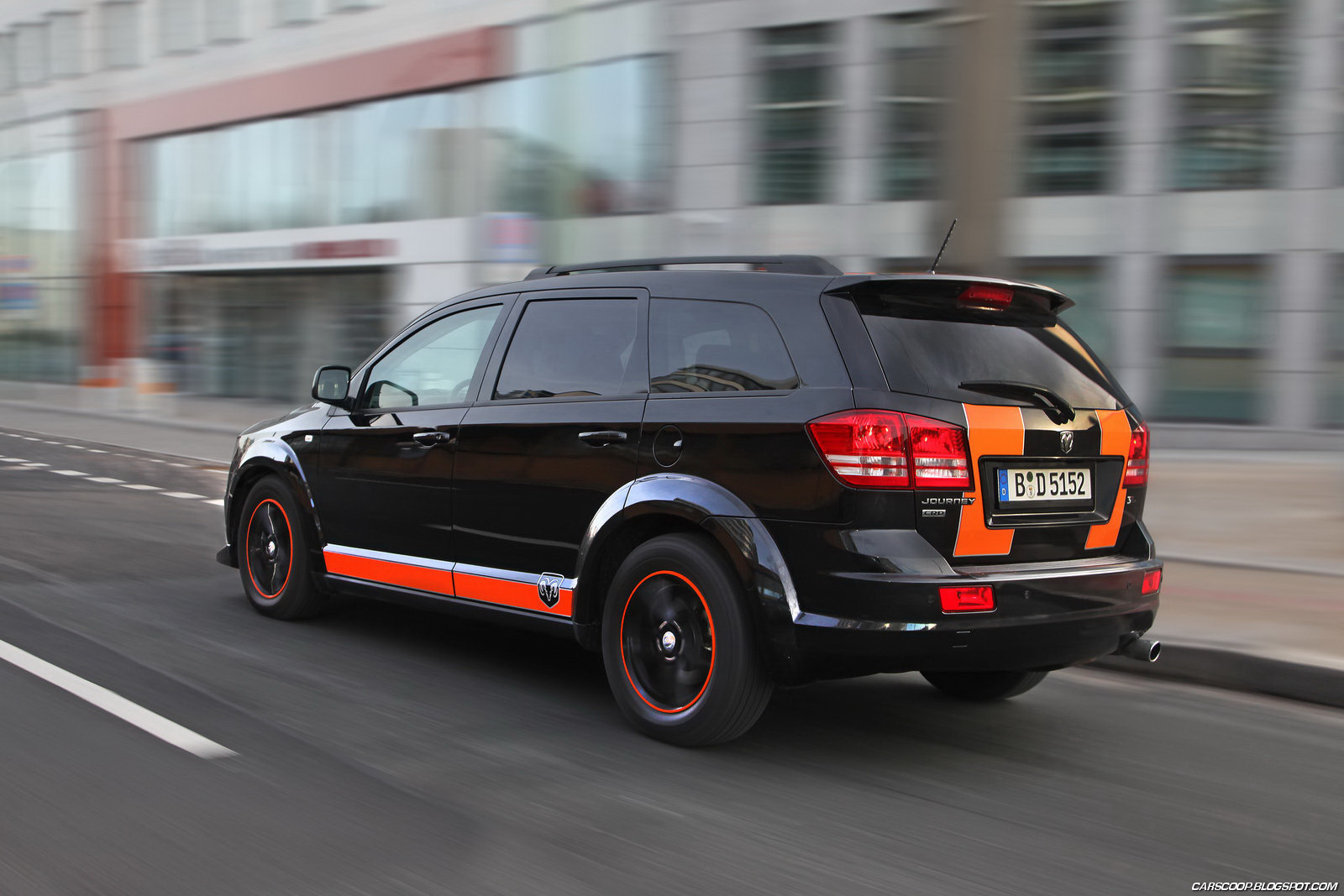 Car Dodge 2011 Dodge Journey Sr Rally Look Special By