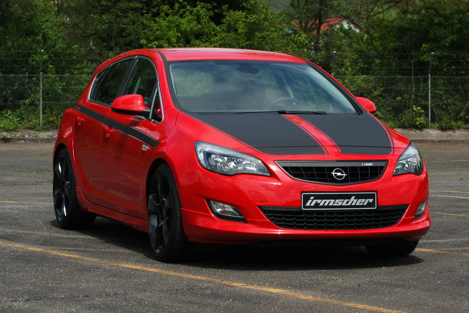 The Car Irmscher Opel Astra I1600 With Upgraded 200hp 1 6
