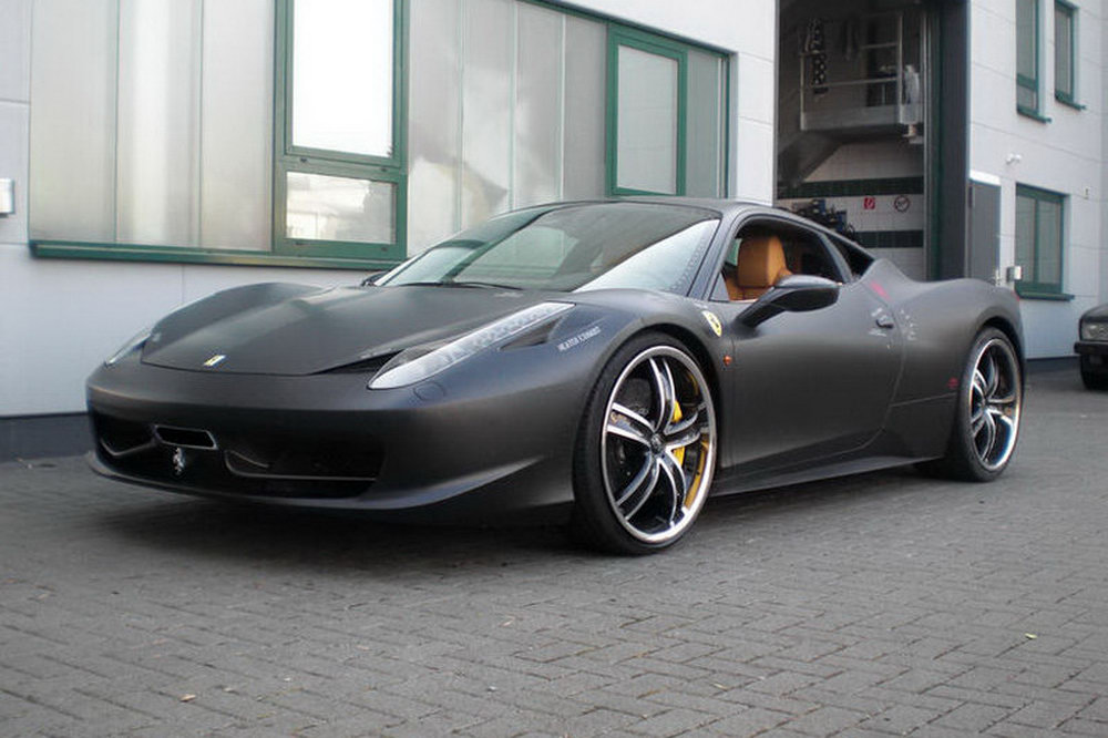 Ferrari 458 Italia Themed After F 117 Nighthawk Stealth
