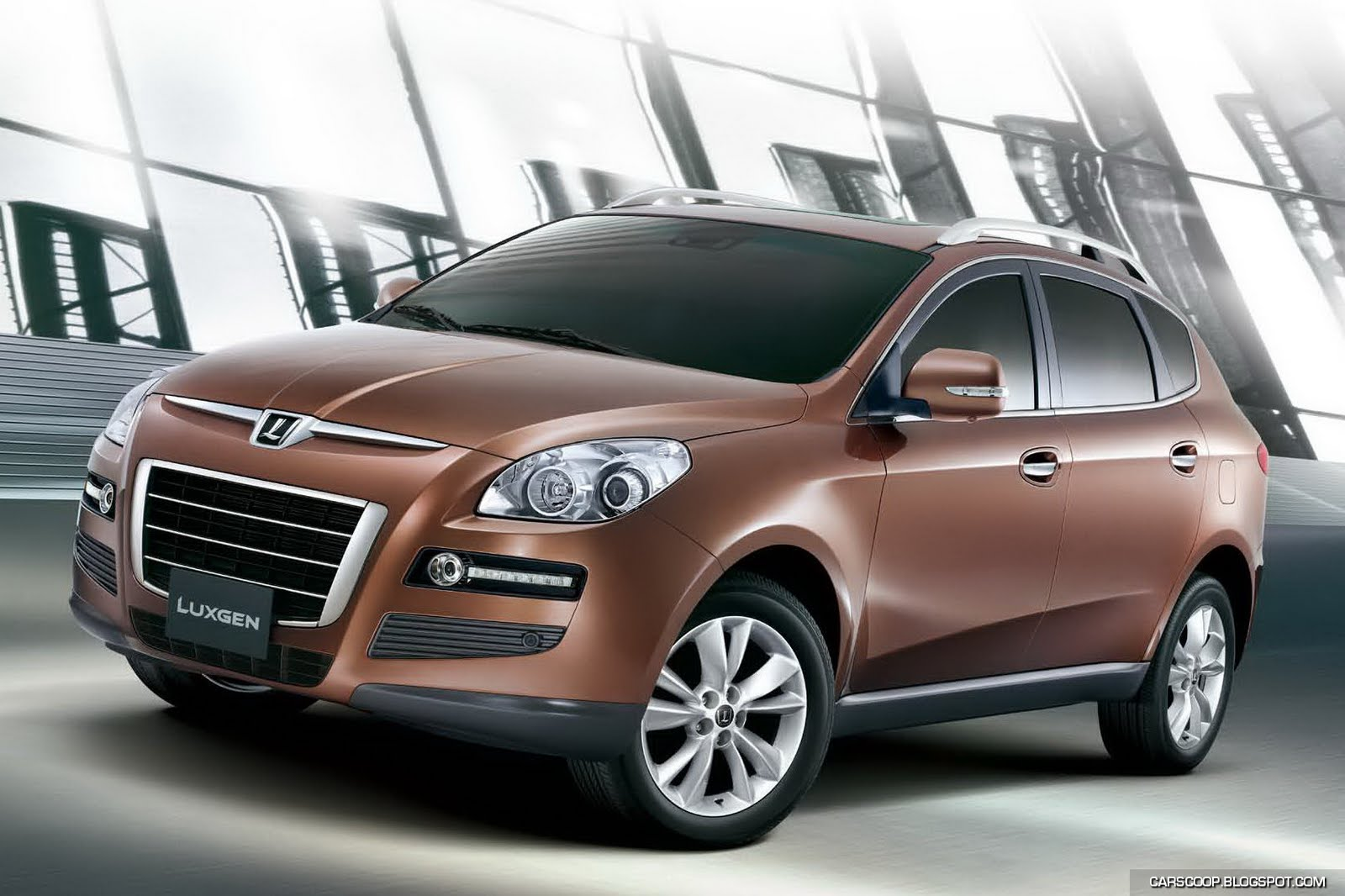 Taiwan's First Car Brand Launches Luxgen7 SUV Could Go On