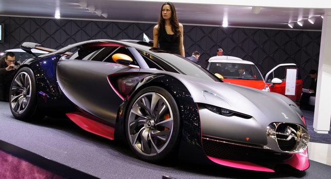 Auto Cars 2011 2012 Citroen Survolt Sports Car Concept To Make