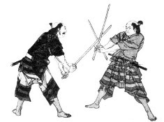 тренировка самураев