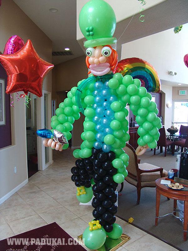 Win Min Amazing Bolloon Sculptures Beautiful Ballon