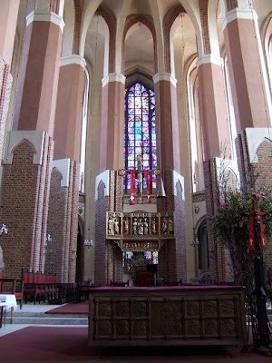 inside St. Jacob's cathedral