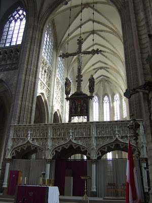 inside the St. Peter's Church