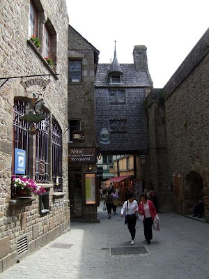 centre of Mont Saint-Michel