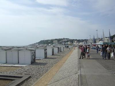 promenade in Le Havre