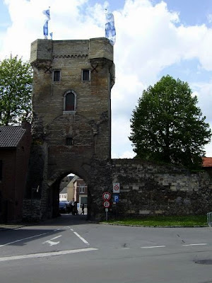 Moerenpoort city gate in Tongeren
